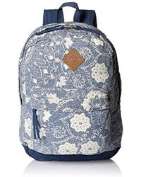 O'neill Sportswear - Shoreline Canvas Printed Backpack - Lyst
