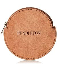 Pendleton - Suede Coin Purse - Lyst