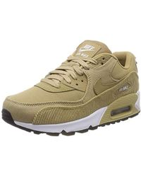 Wmns Air Max 90 Lea Trainers,