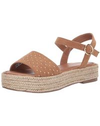d5df39c66ce1 Lyst - Seychelles Coast Knotted Slide Sandal in Blue