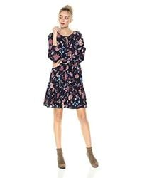 Ella Moon - Amabel Long Sleeve Smock Dress - Lyst