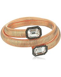 Vince Camuto - Coil With Square Stone Bracelet - Lyst