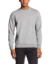 Armani Jeans - Regular Fit Logo Crewneck Sweatshirt - Lyst