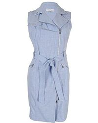 CALVIN KLEIN 205W39NYC - Petite Moto Dress - Lyst