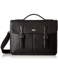 Ted Baker - Bengal Leather Satchel - Lyst