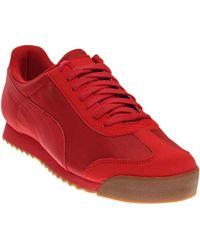 PUMA - Roma Basic Summer Fashion Sneaker - Lyst