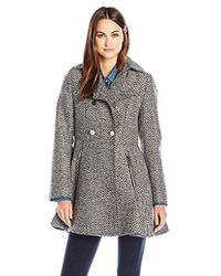 Laundry by Shelli Segal - Wool-db Tweed Fit And Flare - Lyst