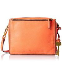 Fossil - Campbell Cross-body Bag - Lyst