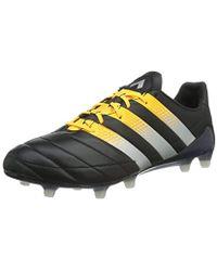 sale retailer 85084 14166 adidas - Ace 16.1 Fg ag Leather Football Boots, 10 Uk (44 2