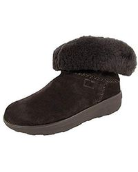 83eb8a6a6ae752 Lyst - Fitflop Mukluk Shorty 2 Shimmer Boots Ankle in Black