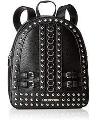 Love Moschino - Borsa Pebble Grain Pu Backpack Handbag - Lyst