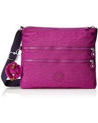 5ed37d2928 Kipling Canali Cross-body Bag in Pink - Lyst