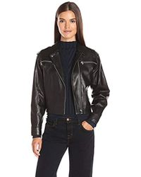 J Brand - Maisie Leather Jacket - Lyst