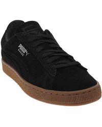 0e7fc133ced5 Lyst - Puma Suede Classic Debossed Sneakers In Black 36109802 in ...