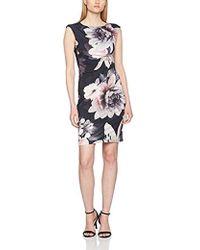 Dorothy Perkins - Billie Black Label: Floral Bodycon Dress - Lyst