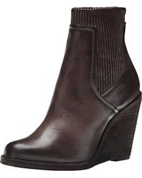 Frye - Carrie Scrunch Back-zip Boot - Lyst