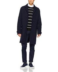 Lacoste - Long Wool Coat - Lyst