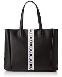 HUGO - Kingston Small Tote, 's Shoulder Bag, Black, 13x29x44 Cm (b X H T) - Lyst