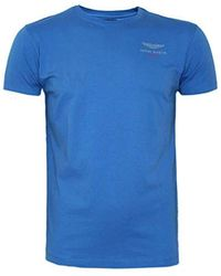 Hackett - Hackett Aston Martin Racing Short Sleeve Logo T-shirt, Tee Regular Fit - Lyst