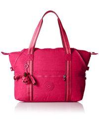 Kipling - Art M Borsone, 45 cm, Rosa (Cherry Pink C) - Lyst