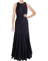 Vera Wang - Lace Gown - Lyst