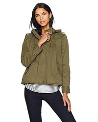 Lucky Brand - Raw Edge Military Jacket - Lyst