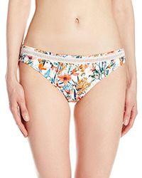 Lucky Brand - Junior's Lucky Garden Hipster Bikini Bottom - Lyst