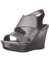 Kenneth Cole Reaction - Sole Less 2 Wedge Sandal - Lyst