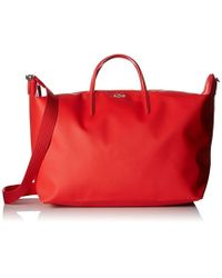 Lacoste - L.12.12 Concept Travel Shopping Bag - Lyst