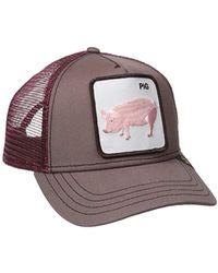 638c7a9655cbad Goorin Bros . Prideful Animal Farm Trucker Cap, Black, One Size in Black  for Men - Lyst