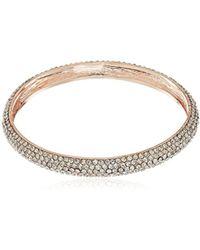 Nina - Spring 17 Pave Bangle Bracelet - Lyst