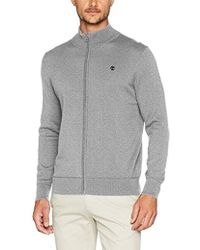 Timberland - Williams River Full Zip, suéter para Hombre, Gris (Medium Grey Heather 052) - Lyst