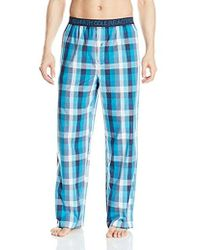 Kenneth Cole Reaction - Woven Pant Plaid - Lyst