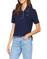 0b47481c Lacoste - Df8741 Short Sleeve Polo Shirt - Lyst