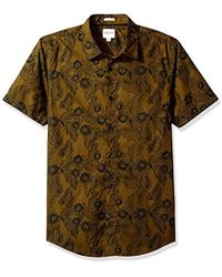 Guess - Ink Palm Laguna Shirt - Lyst