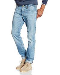 c78605d6 Tommy Hilfiger Tyler Skinny Tapered Fit Jeans in Black for Men - Lyst