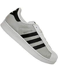 los angeles f05e0 194c9 adidas - Originals Superstar Foundation, Trainers - Lyst