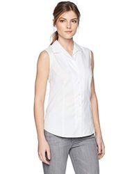 Jones New York - Easycare Slvlss Shirt - Lyst