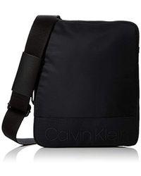 Calvin Klein - Shadow Flat Crossover Shoulder Bag - Lyst