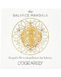 Dogeared - The Mindful Mandala Center Square Ring - Lyst