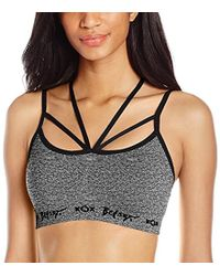 Betsey Johnson - Strappy Front Seamless Bra - Lyst
