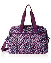 Vera Bradley - Lighten Up Weekender Travel Bag, Polyester - Lyst