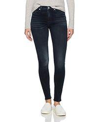 Hudson Jeans - Barbara High Rise Super Skinny Jeans - Lyst