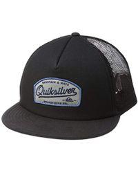 655a34bd Quiksilver Knockout Hat in Black for Men - Lyst