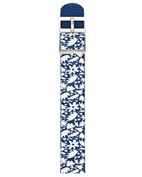 Fossil - S181304 Blue Nylon 18mm Watch Strap - Lyst