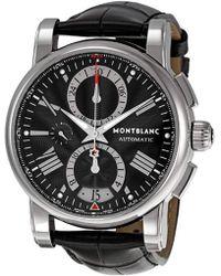 Montblanc - 102377 Star Chronograph Watch - Lyst