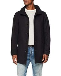 G-Star RAW - Garber Empral Wool Trench Coat - Lyst