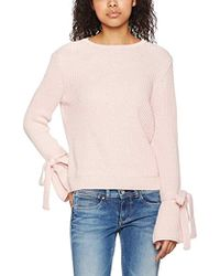 Miss Selfridge - Tie Up Cuff Jumpers - Lyst