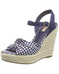 Pepe Jeans - Walker Tubular, 's Flat Wedge Platform Sandals - Lyst