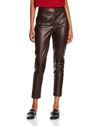 82fe3df7244 French Connection Atlantic Faux Leather Pants in Black - Lyst